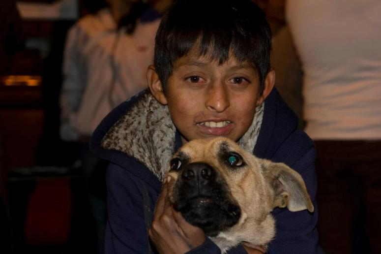A drug addicted street kid in Guatemala we once met, similar to the boys that stole our backpack in San Jose.