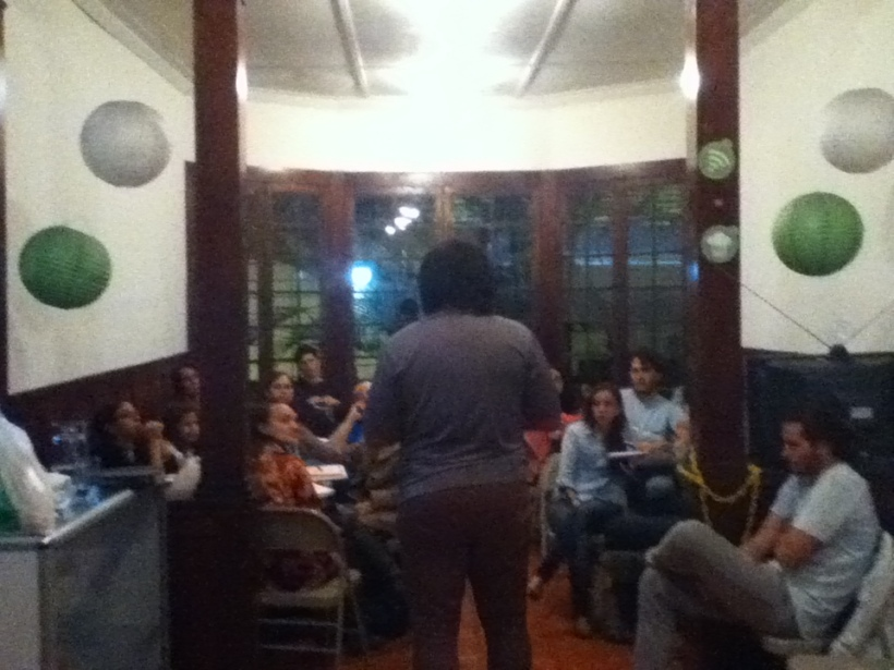 "Our El Salvadorian friend Pancho sharing on ""Hearing the Voice of God"" and ""Radical Obedience. """