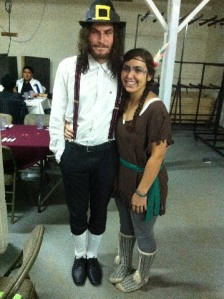 I also love dressing up like Pilgrims and Native Americans.