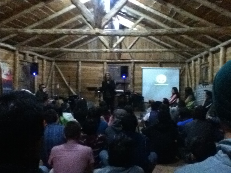 Times of worship and sharing the Word in the evenings.