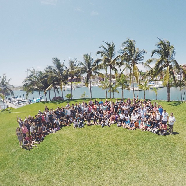 We gathered with people from about 60 other YWAM bases in our area of México and Central America!