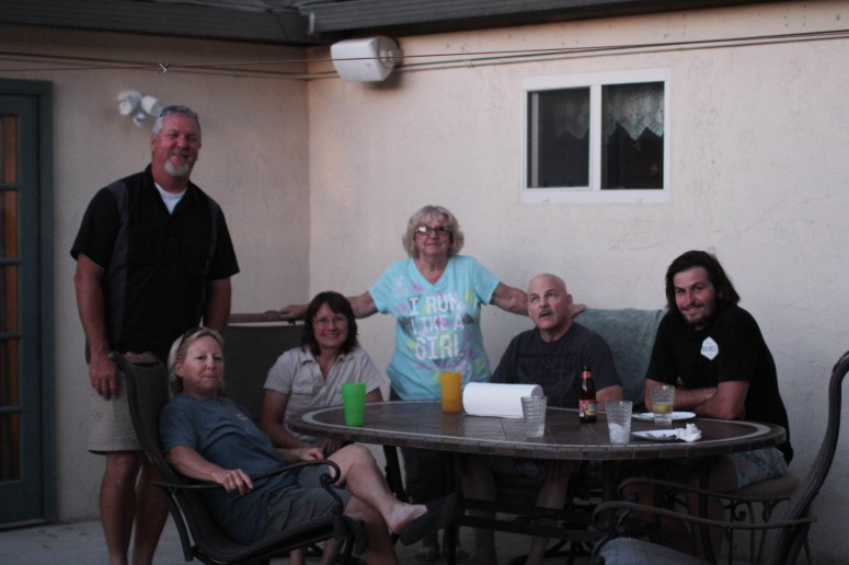 Some of the people who've been there for my family since before I even existed!